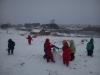 Džiaugiamės sniegu